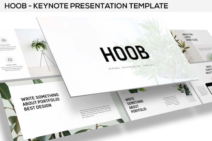 Thumbnail for Hoob - Keynote Template