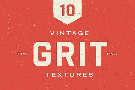 Vintage Körnung Texturen