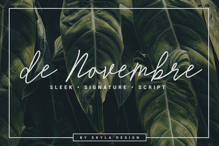 Cover Image For Signature script, de Novembre