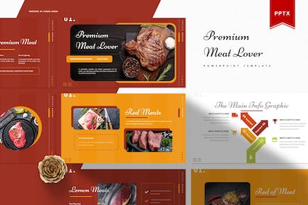 Premium Meat Lover | Powerpoint Template