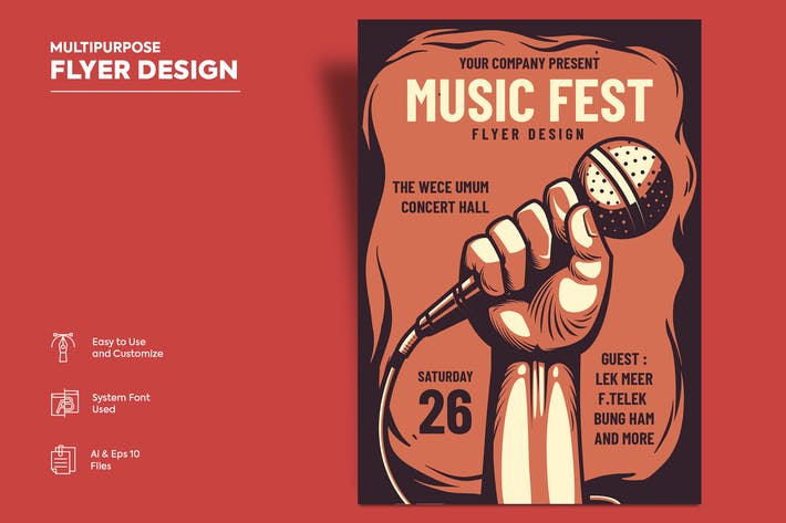 Thumbnail for Flyer Design Vol.10