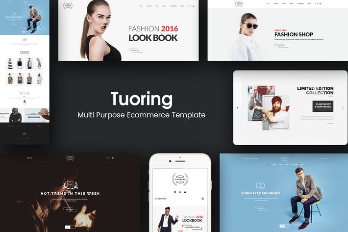 Cover Image For Tuoring - Multipurpose Responsive Prestashop Theme