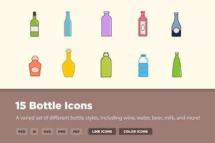 15 Bottle Icons