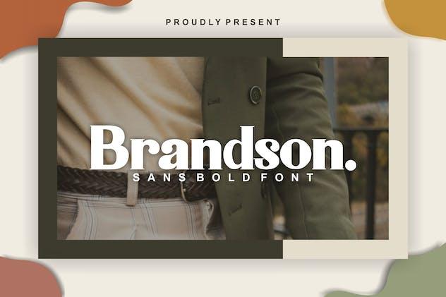 Brandson Serif Font