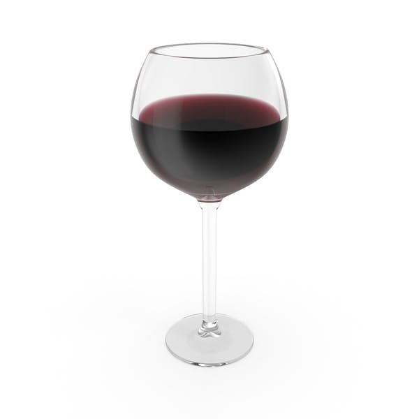 Thumbnail for Red Burgundy Wine Glass