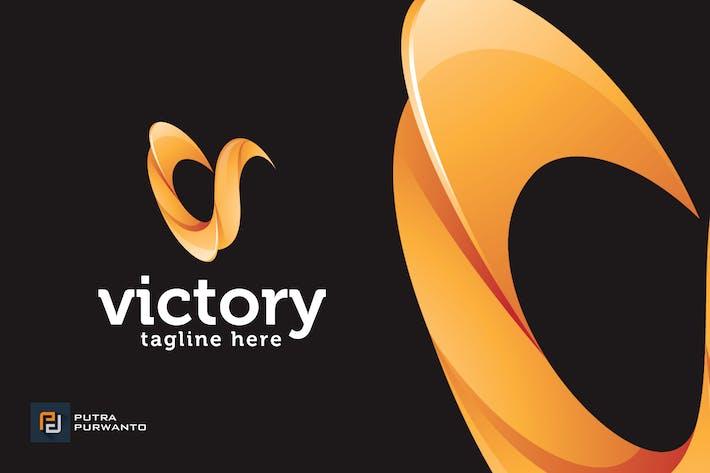 Thumbnail for Victory / Letter V - Logo Template