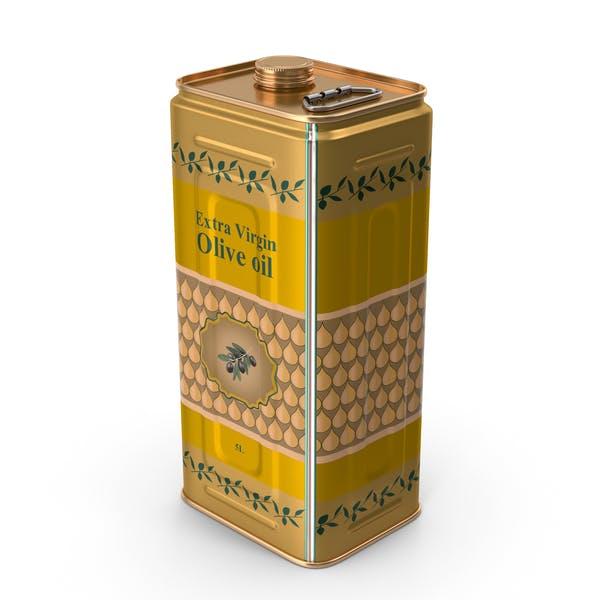 Оливковое масло 5 литров оловянной банки