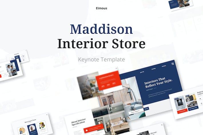 Maddison - Interior & Furniture Store Keynote