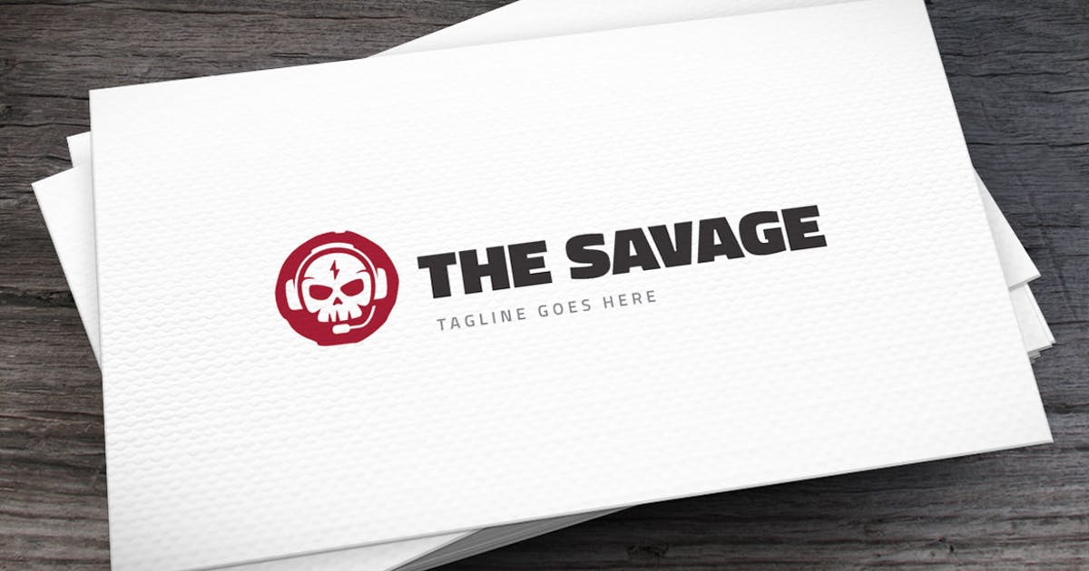Download Savage Logo Template by empativo