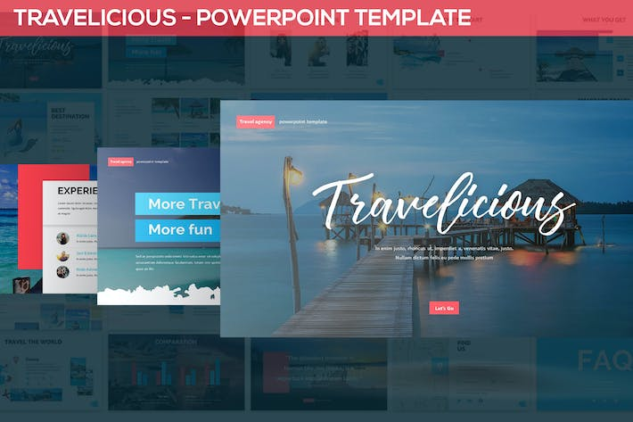 Thumbnail for Travelicious - Powerpoint Template