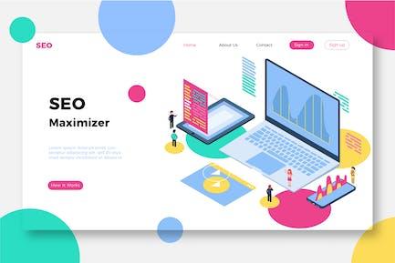 SEO Maximizer - Banner & Landing Page