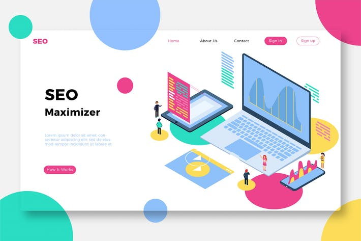 Thumbnail for SEO Maximizer - Banner & Landing Page
