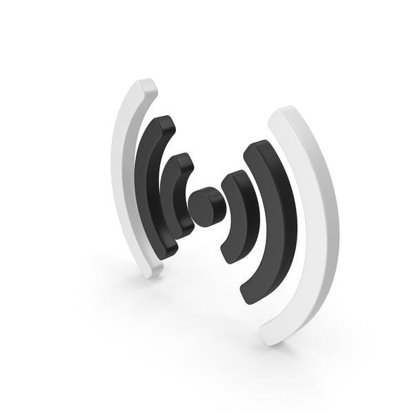 Wi-Fi Duo Symbol Mitte