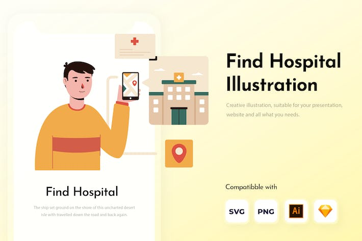 Thumbnail for Find Hospital