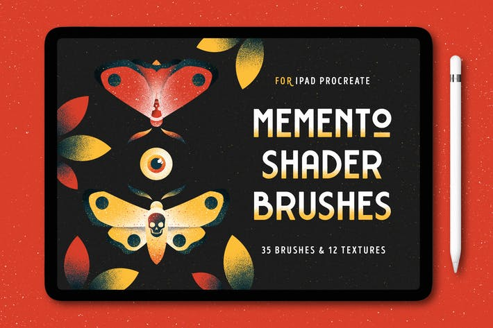 Thumbnail for Shader Brushes for Procreate