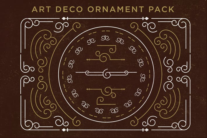 Thumbnail for Art Deco Ornament Pack