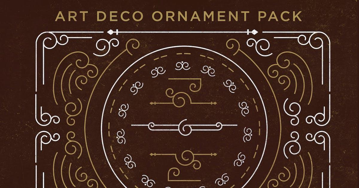 Download Art Deco Ornament Pack by jiwstudio