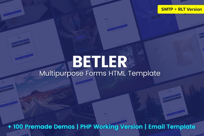 Betler - Multipurpose Forms HTML Template