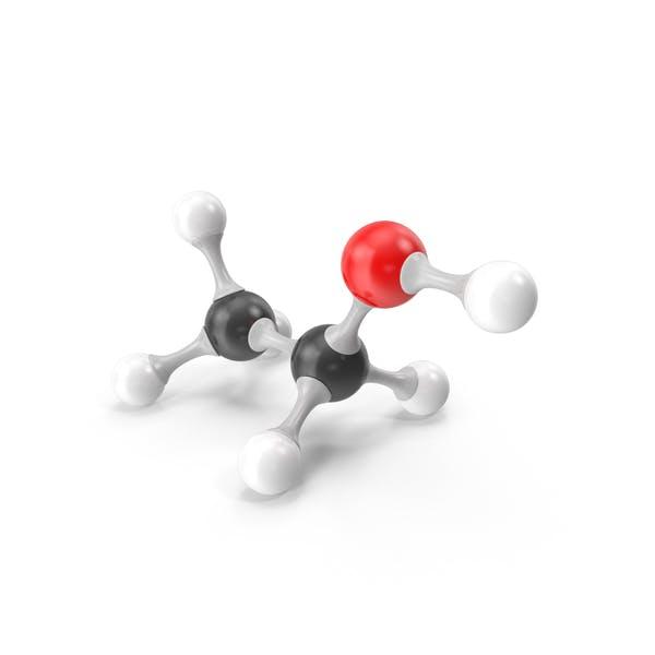 Ethanol Molecular Model