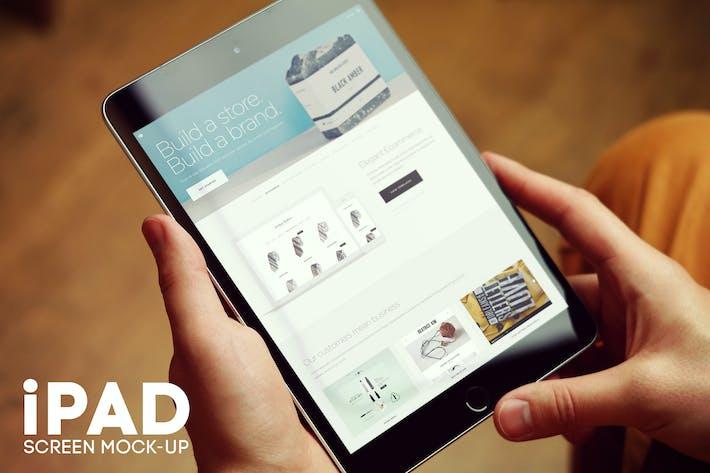 Thumbnail for iPad Screen Mockup v4