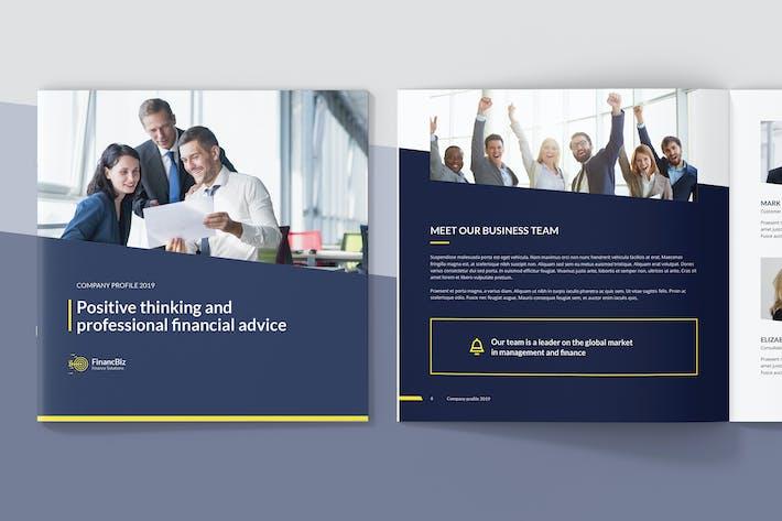 Cover Image For FinancBiz – Company Profile Square