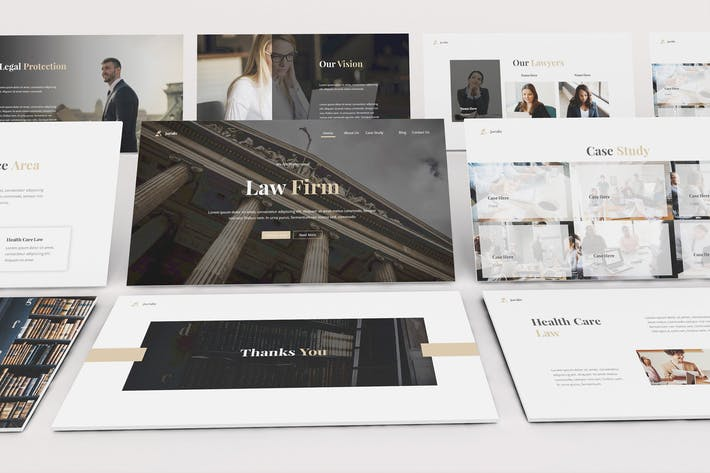 Thumbnail for Law Firm Powerpoint Template