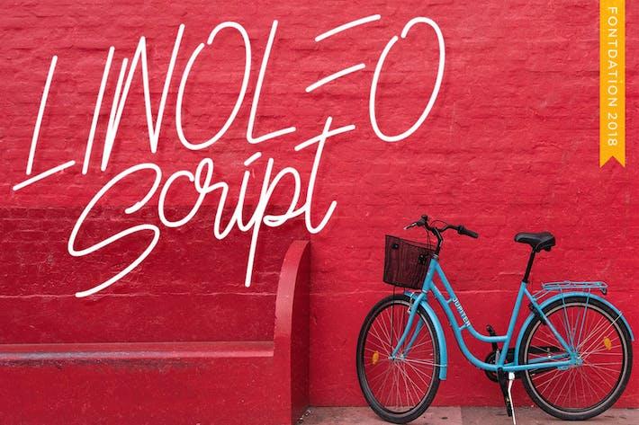 Thumbnail for Linoleo Script
