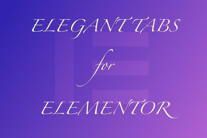 Thumbnail for Elegant Tabs for Elementor