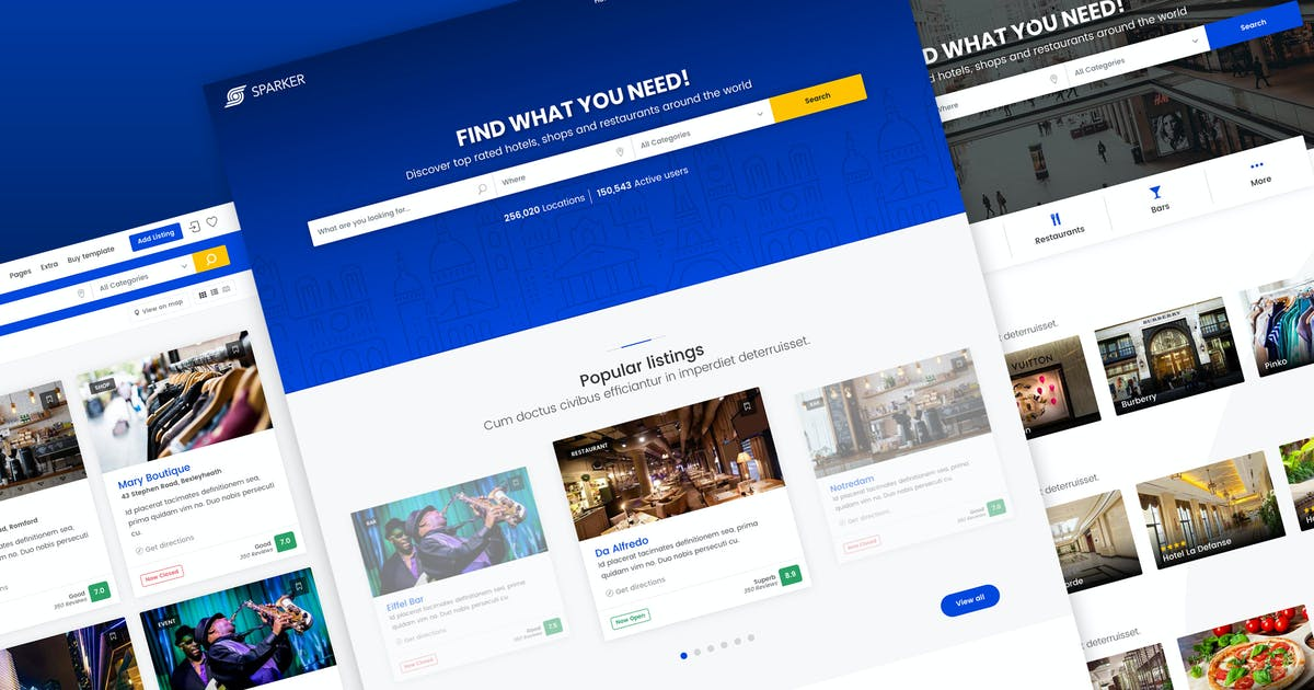 Download Sparker - Directory and Listings Template by Ansonika