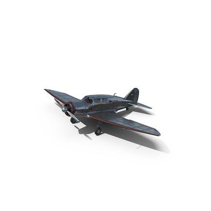 Retro Civil Plane