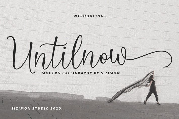 Thumbnail for Untilnow Script Caligrafía moderna