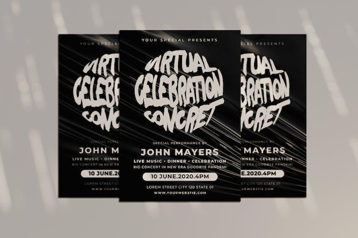 Thumbnail for Virtual Celebration Flyer