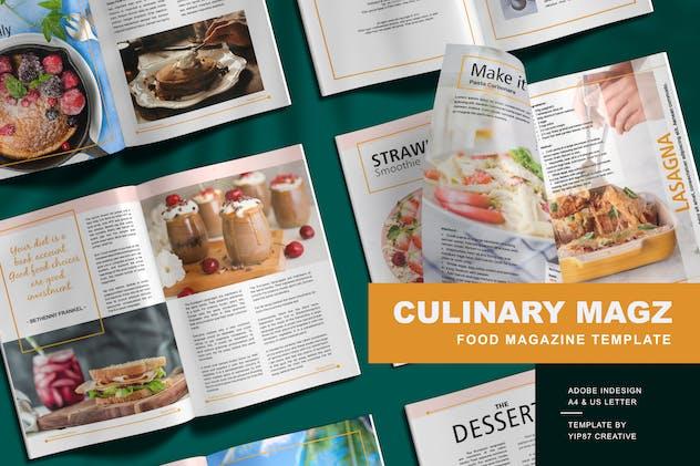 Culinary - Food Magazine