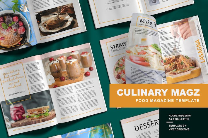 Thumbnail for Culinary - Food Magazine