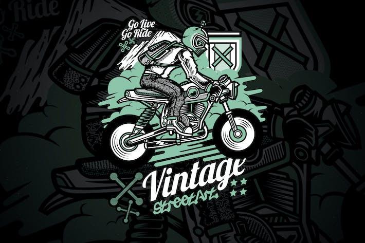 Thumbnail for Vintage Rider