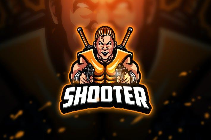 Thumbnail for Shooter 2 - Mascot & Esport Logo