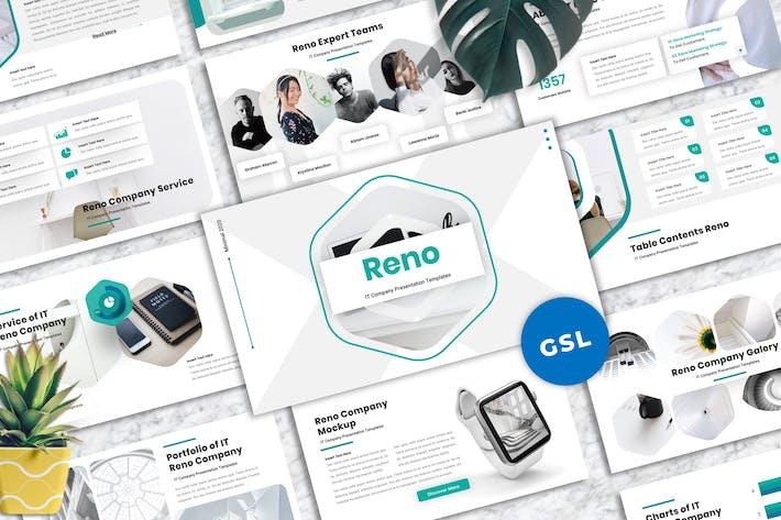 Thumbnail for Reno - IT-Unternehmen Googleslide Vorlagen