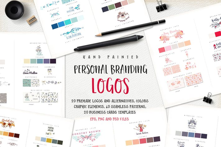 Thumbnail for Personal Branding Logos