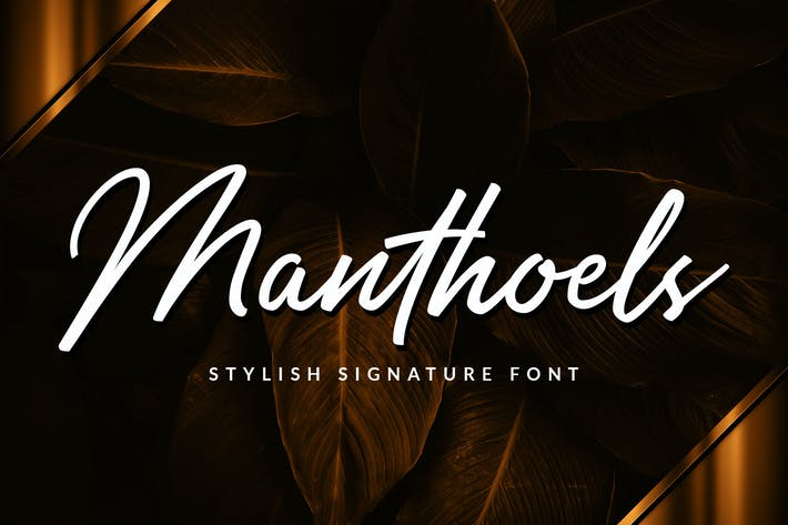 Thumbnail for Manthoels - Stylish Signature