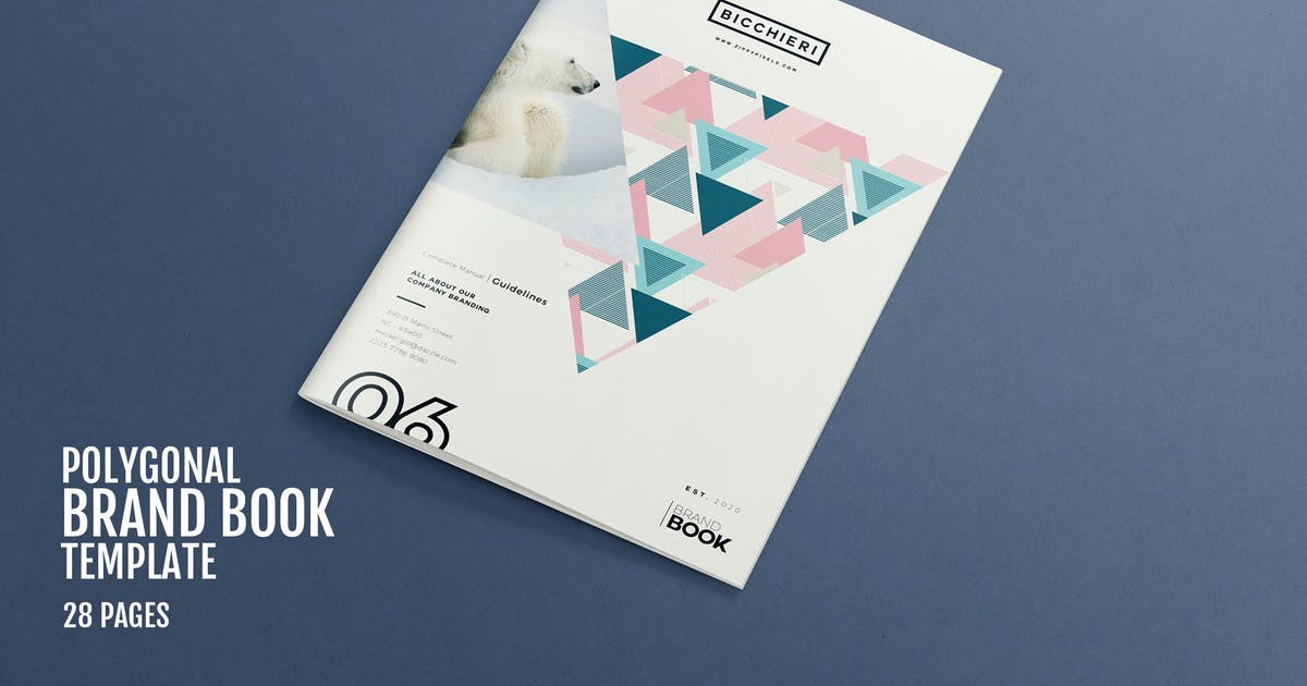 Download Polygonal - Brand Style Guide Template by Unknow