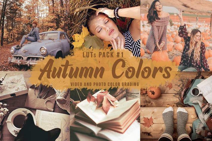 Thumbnail for 🍁 Autumn Colors -  LUTs Pack #1