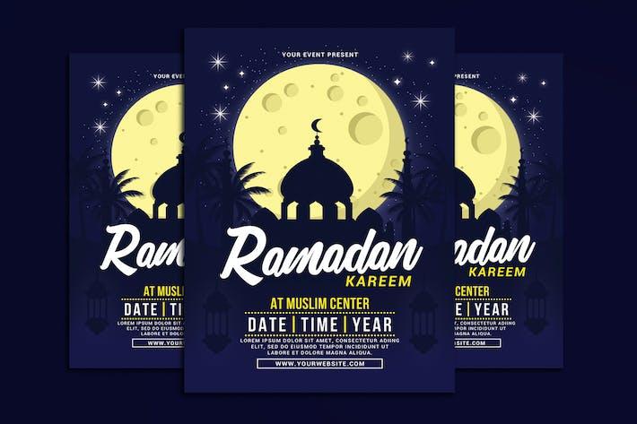 Thumbnail for Ramadan Kareem Flyer
