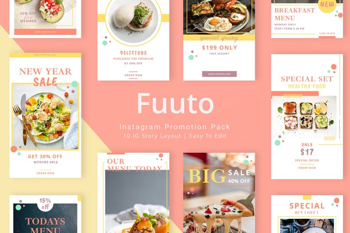 Thumbnail for Fuuto - Pack histoire Instagram