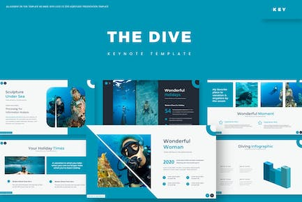 The Dive - Keynote Template