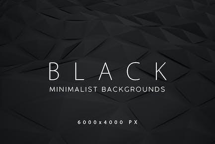 Fondos minimalistas negros