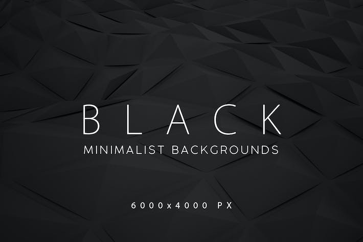Thumbnail for Black Minimalist Backgrounds