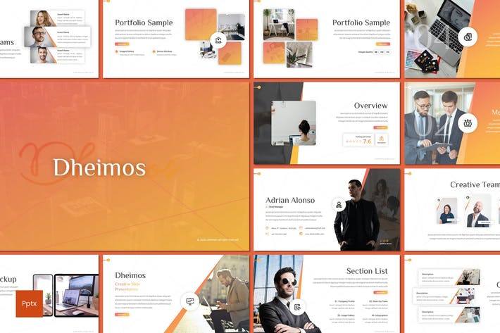 Thumbnail for Dheimos - Business Powerpoint Template
