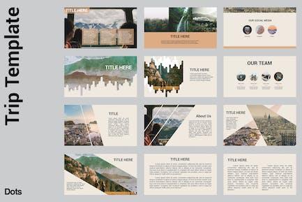 Trip - Powerpoint Tmaplate