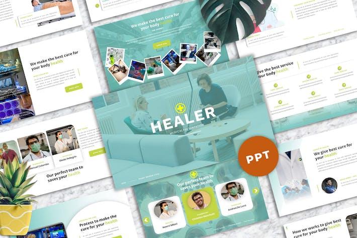 Thumbnail for Целитель - Медицина PowerPoint Шаблон