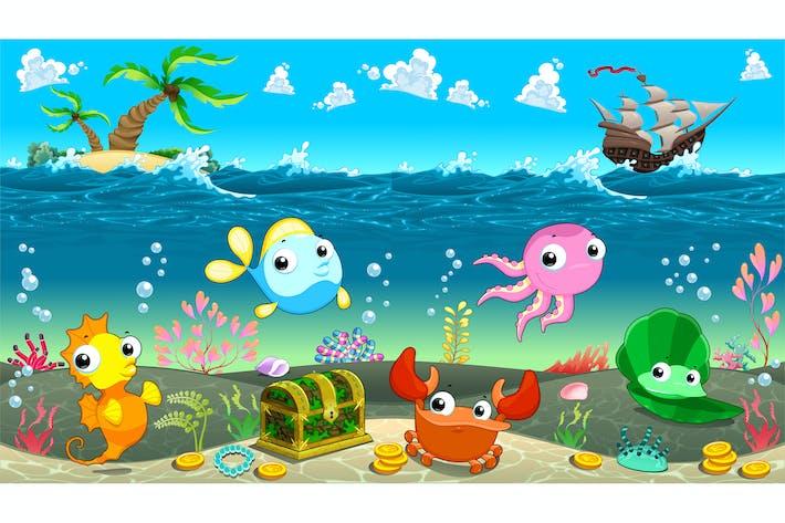 Thumbnail for Szene unter dem Meer